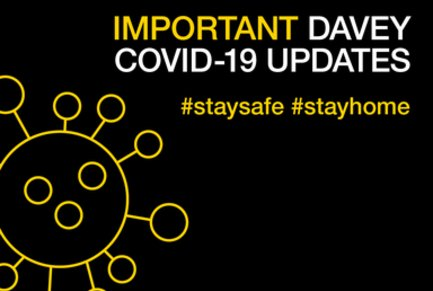 Important Davey COVID-19 Updates