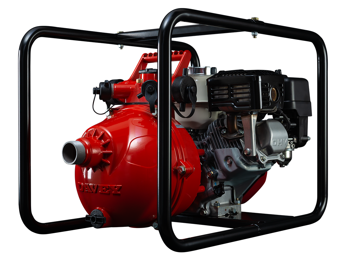 5265H - twin stage, 196cc Honda GX200 engine, flow rates up to 400 lpm