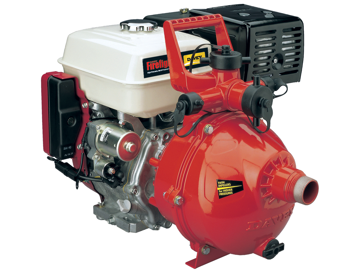 5265HE - twin stage, 196cc Honda GX200 electric start engine, flow rates up to 400 lpm