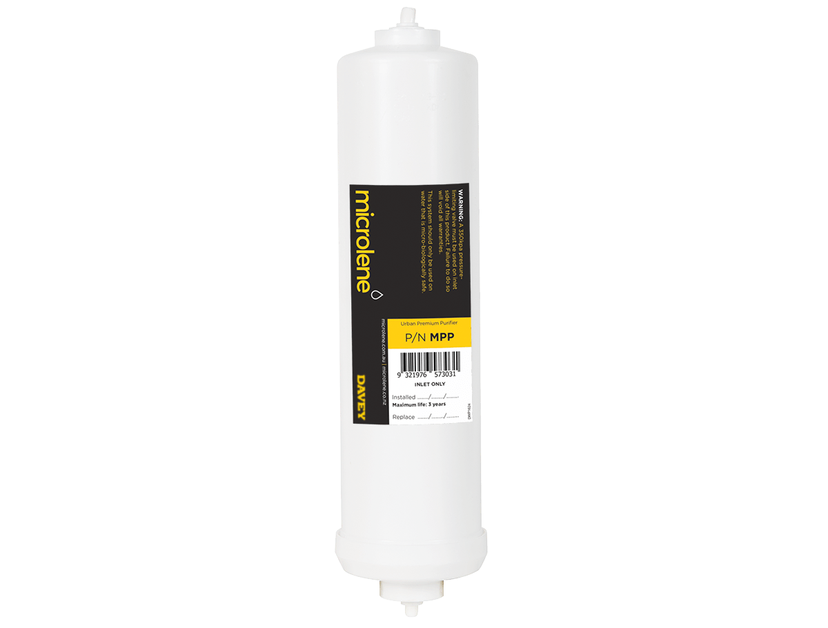 Microlene Under Bench Filtration - Urban MPP: Premium under bench mains water filter replacement